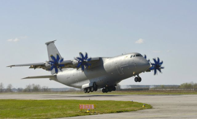 The Antonov An-70 military transport aircraft has entered service with the Ukrainian Armed Forces, general staff has reported yesterday, January 20. The Antonov State Enterprise (Kyiv) finished joint state tests of An-70 modernized medium transport short takeoff and landing (STOL) aircraft in April 2014.