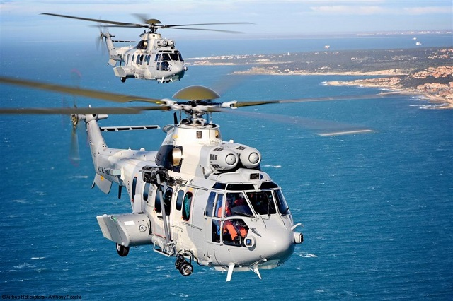 Airbus Helicopters has completed delivery of an initial four EC725s to the Royal Thai Air Force, providing highly-capable rotorcraft for this military service's search and rescue and troop transport duties. The order of four EC725s was signed in 2012, with the deliveries having just been completed. They are expected to begin operations later this month. Two additional EC725s were booked in 2014 for deliveries to the Royal Thai Air Force next year.