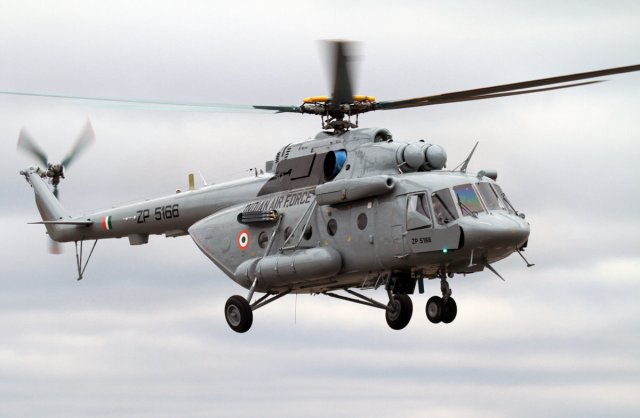 According to the Indian media Economic Times, the Indian Air Force has moved a proposal to spend $1.1bn to acquire more Mi-17-V5 medium-lift multirole choppers from Russia in a move that would go against the grain of the 'Make in India' concept but offer a vital addition to its transport fleet. Hundreds of Mi-17 helicopters are already in service with the IAF.