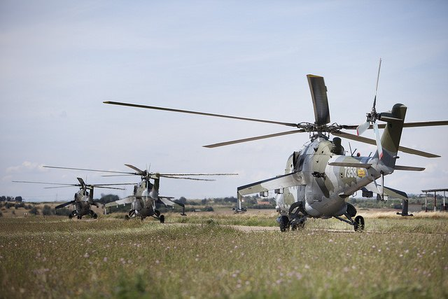More than 30 helicopters and 1000 military personnel have gathered 80 kilometers north of Rome for Italian Blade 2015, this year's largest military rotary-wing exercise in Europe, the European Defence Agency announced on Tuesday June 23rd. Crews from seven different countries have started training together yesterday using joint procedures and tactics during missions of increasing complexity.
