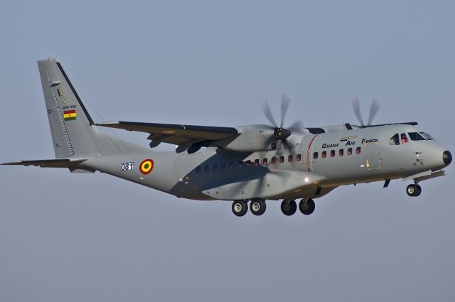 The Ghanian Parliament has approved a $49.10 million loan facility with Airbus Defence and Space SAU to purchase a C-295 CASA transport aircraft and other related equipment for the Ghana Armed Forces. The facility also has a $300 million component for Peace Keeping efforts for the Ghana Armed forces, announced local medias yesterday, March 25.