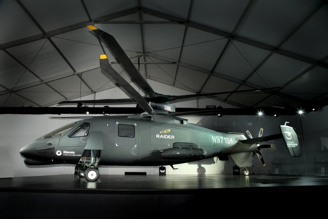 Sikorsky Aircraft Corp., a subsidiary of United Technologies Corp., today announced the start of final assembly of the second S-97 RAIDER™ helicopter at the company's Development Flight Center. The second prototype of the S-97 RAIDER(TM) arrives at Sikorsky's Development Flight Center in West Palm Beach, Florida.