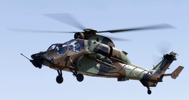 "The new version of the Airbus' Tiger attack helicopter, known as Tiger HAD (Hélicoptère d'Attaque et de Destruction) has been presented to the public by the Spanish Army on March 4, at the ""Coronel Maté"" airbase in Colmenar Viejo (Madrid), Headquarters of the Spanish Army Airmobile Forces."