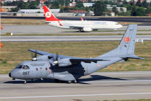 Airbus and the Turkish Air Force signed a letter of intent on Wednesday, May 6, to start the certification of the Air Supply and Maintenance center in Kayseri, Turkey as a regional maintenance hub for CN-235 aircraft, said yesterday Turkish medias. The CN-235 is a medium-range twin-engine transport plane used for military roles, including maritime patrol, surveillance and air transport.