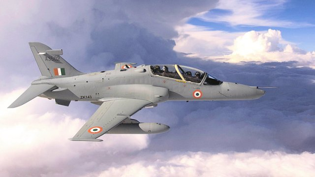 Hindustan Aeronautics Limited has signed an MoU with BAE Systems UK for the upgrade of Hawk Mk 132 Advanced Jet Trainer, development of combat Hawk for Indian and export markets and maintenance solutions for supporting Jaguar and Hawk fleet. The Hawk Mk 132 is an Advanced Jet Trainer (AJT) with tandem dual seats meant to provide basic, advanced flying and weapons training.