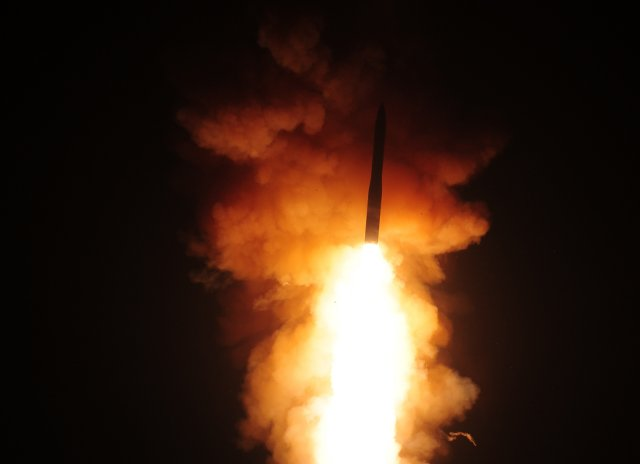 A team of US Air Force Global Strike Command Airmen launched an unarmed Minuteman III intercontinental ballistic missile equipped with a test reentry vehicle from Vandenberg Air Force Base, California, at 3:37 a.m. Pacific Daylight Time May 20. The ICBM's reentry vehicle, which contained a telemetry package used for operational testing, traveled approximately 4,200 miles to the Kwajalein Atoll in the Marshall Islands, the AFGSC said on Tuesday, May 26.