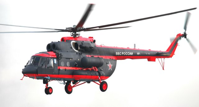 Russian Helicopters delivers first Mi 8AMTSh VA helicopter to Russia s Arctic troops 640 001