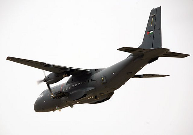 The Royal Jordanian Air Force receives APKWS units for integration on its CN 235 gunship aircraf 640 001