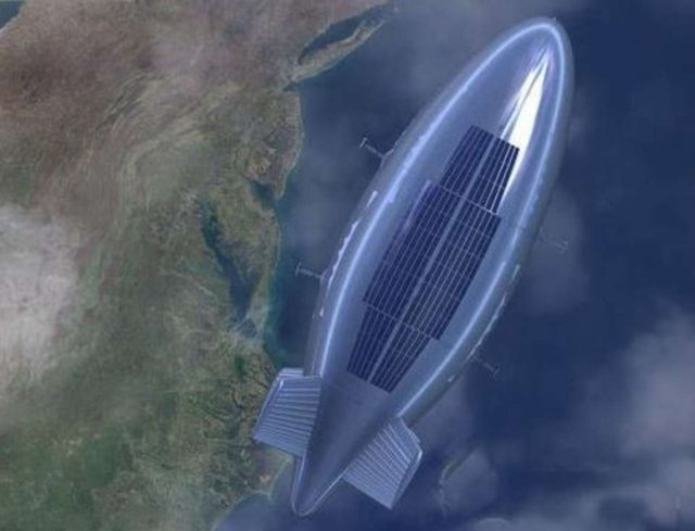 China starts testing the Yuanmeng a new type of helium stratospheric reconnaissance airship 640 001