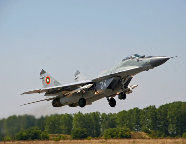 Bulgaria officially launches tender for the supply of 10 MiG 29 fighter jet engines 640 001