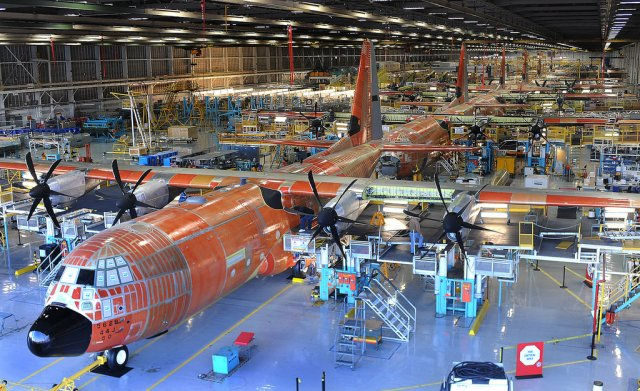 Lockheed lands 10bn contract to support C 130J production program 640 001