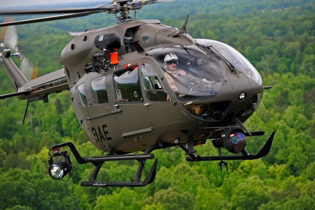 Airbus Helicopters Inc secure 1 bn US Army contract for UH 72A Lakota fleet support 640 001