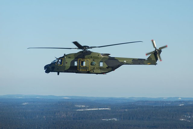 Kongsberg sign agreement for NH90 and AW101 rotorcraft support 640 001