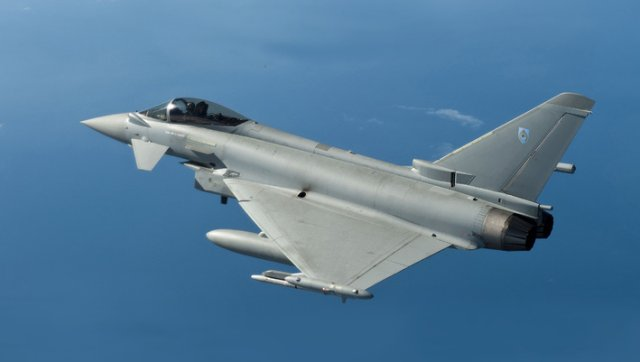 BAE Systems started final assembly of Royal Air Force of Oman s first Typhoon fighter jet 640 001