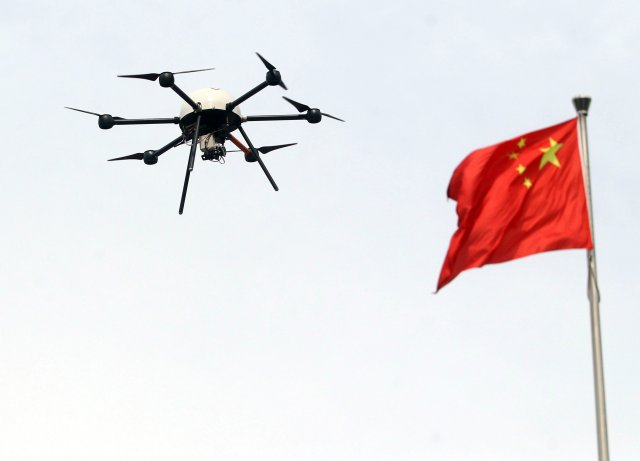 China Air Force sets up its first anti UAV unit 640 001