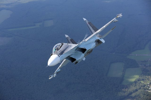 Russia unveils new Su 30SME fighter aircraft export variant 640 001