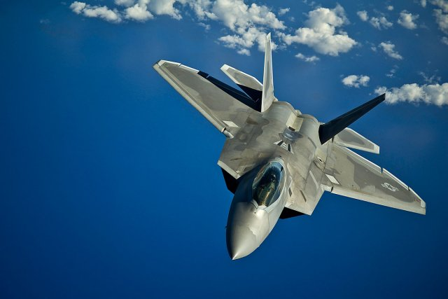 US plans to deploys four F 22 Raptor jets in South Korea 640 001