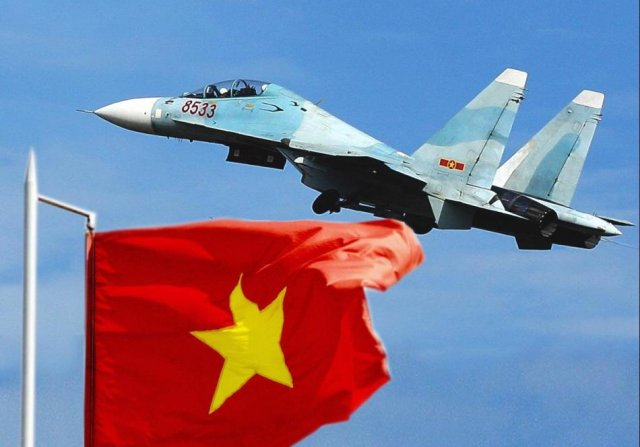 Vietnam took delivery of its two final Su 30MK2 multirole fighter jets 640 001