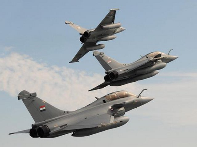 Egypt takes delivery of three more Rafale multirole fighter jets 640 001