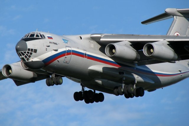 Russia first upgraded Il 76MDM airlifter to take to the sky in February 640 001