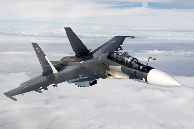 Russia will deploy more Su 30SM fighter jets in Crimea in 2016 640 001