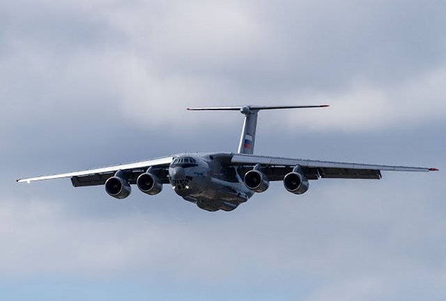 Russian Air Force takes delivery of its second Il 76MD 90A airlifter 640 001
