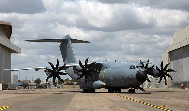 Indra to equip Spanish A400M airlifters with its InShield infrared countermeasure system 640 001
