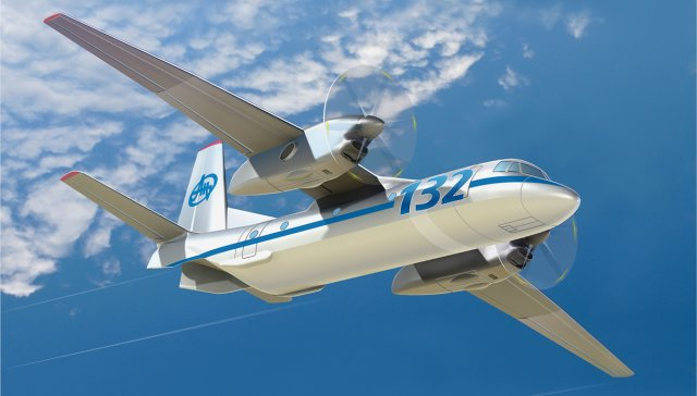 Liebherr o supply integrated air management system for Antonov s An 132D aircraft 640 001