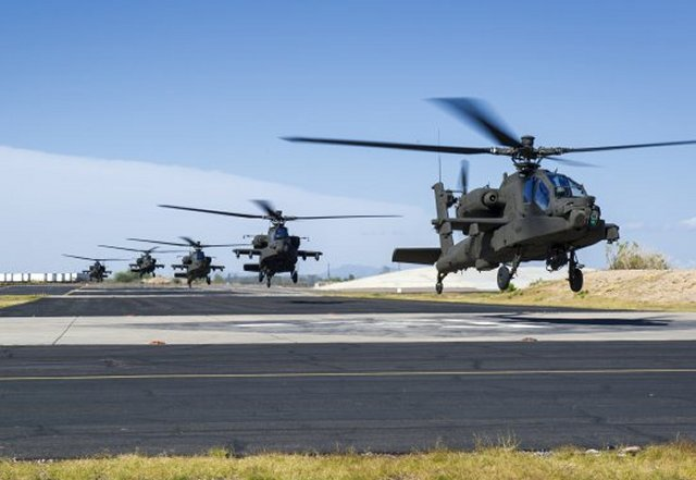 Qatar signs 667 mn deal for 24 AH 64E Apache Guardian helicopters 640 001
