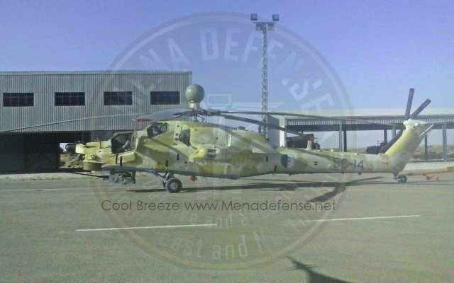 Two more dual control Mi 28NE combat helicopters handed over to Algeria 640 001