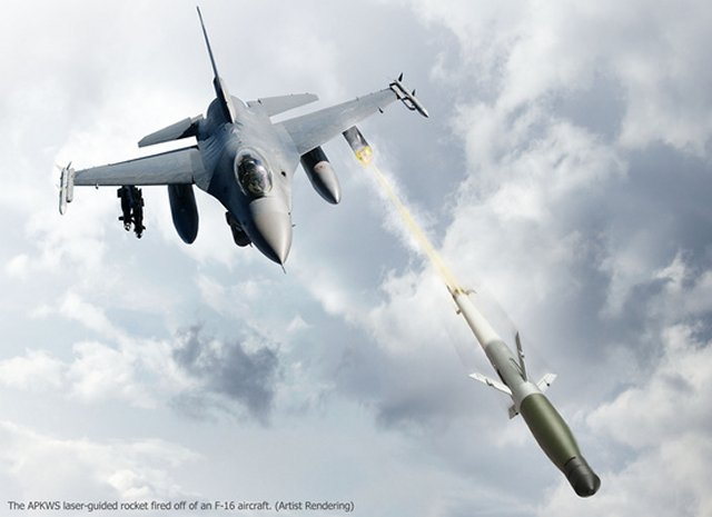USAF F 16 fighters started using APKWS rockets in combat operations 640 001