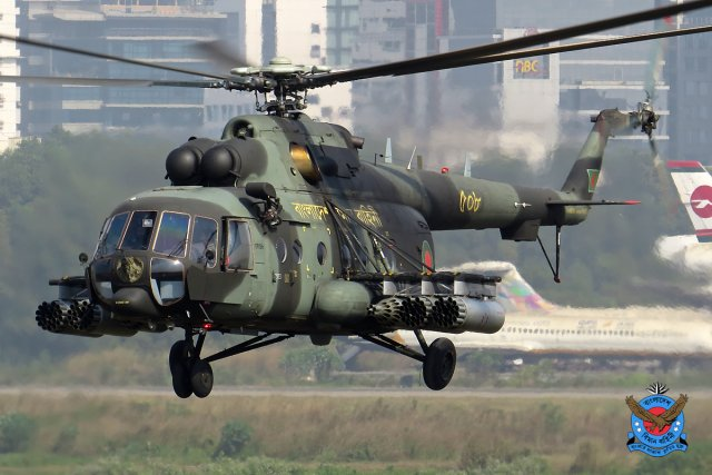 Bangladesh takes delivery of another batch of Mi 171 multirole helicopters 640 001