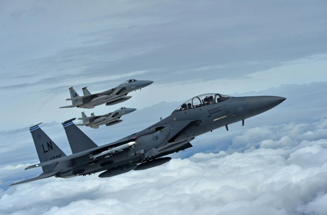 Boeing ands 558 mn USAF contract for F 15 fighter jet radar upgrade 640 001