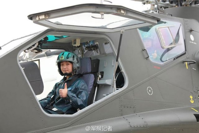 Firs Chinese female attack helicopter pilots now ready for duty 640 001