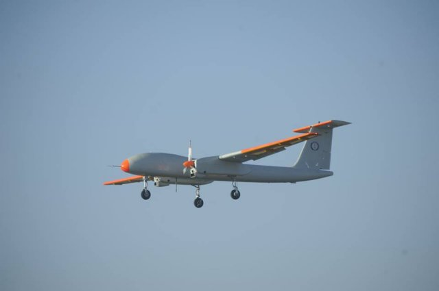 India Rustom 2 UAV made its maiden flight 640 001