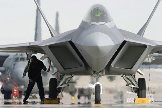 Lockheed lands a 536 mn USAF contract for F 22 Raptor support 640 001