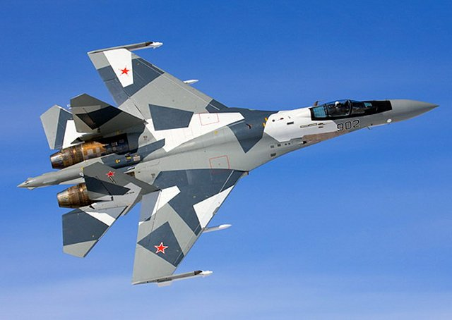Russia Western Military District Air Regiment starts receiving Su 35S fighter jets 640 001
