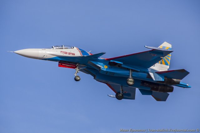 Russian Knights aerobatic team receives second batch of Su 30SM jets 640 001