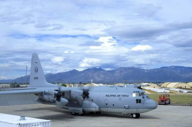 Philippine Air Force takes delivery of 5th C 130 military airlifter 640 001