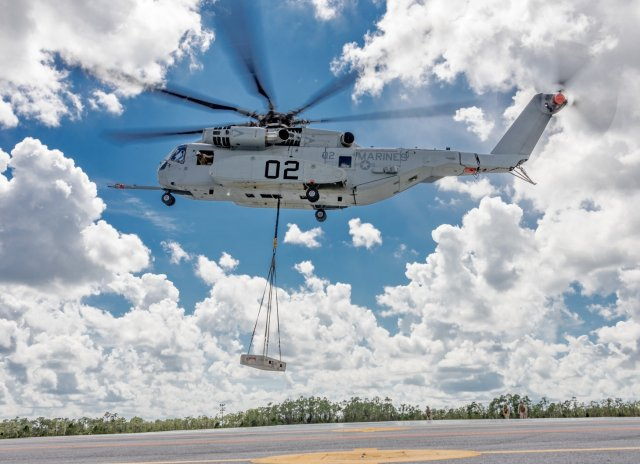 US Marine Corps CH 53K King Stallion completes Initial Operational Testing phase 640 001