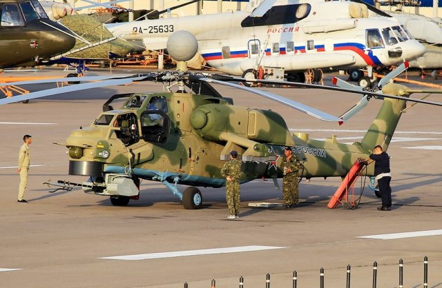 Upgraded Mi 28NM attack helicopter started undergoing flight tests 640 001
