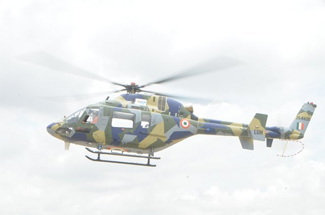 HA Light Utility Helicopter made its maiden flight 640 001