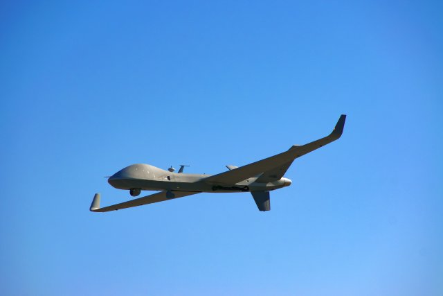 G MQ 9B SkyGuardian RPAS completes first FAA approved flight 640 001