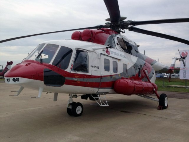 Russian Helicopters Mi 121A2 helicopter certified for commercial deliveries 640 001