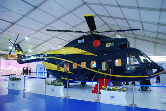 HAL unveils Indian Role Helicopter full scale mock up 640 001