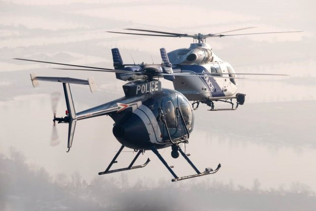 Hungarian National Police takes delivery MD902 Explorer helicopters 640 001