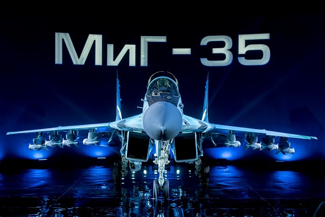 MiG 35 multirole Fighter Russia Russian Air Force 2