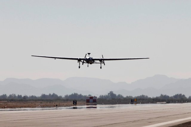 RSAF Heron 1 UAV achieves Full Operational Capability 640 001