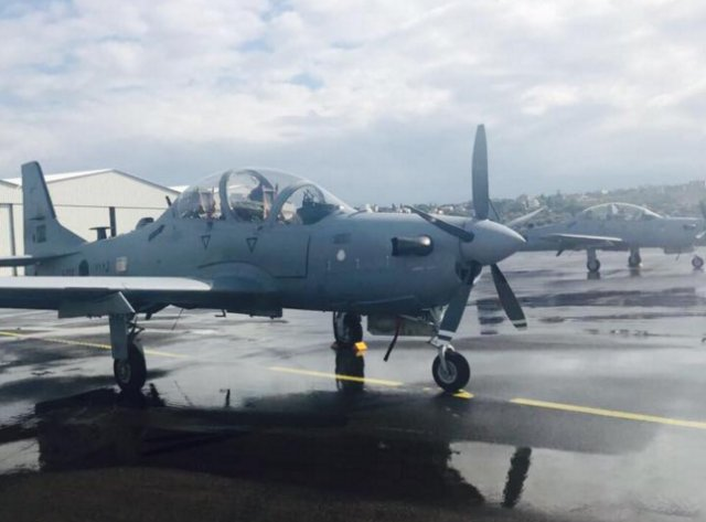 Lebanon takes delivery its first two A 29 Super Tucano light attack aircraft 640 001