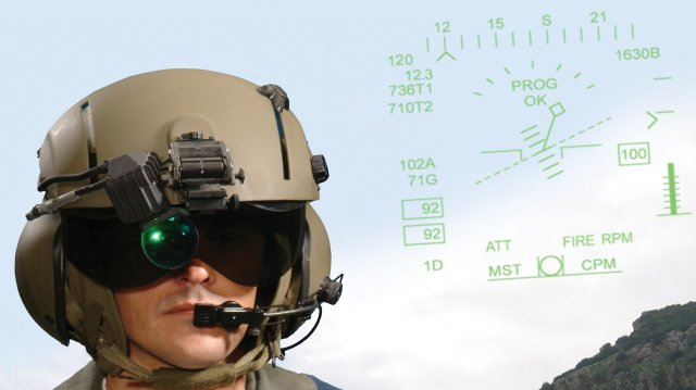 DLA places 31 5 mn order for Elbit s ANVIS Head Up Display 640 001